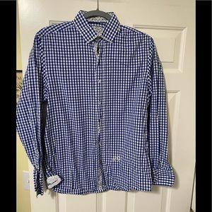 John Lennon designer band button shirt M